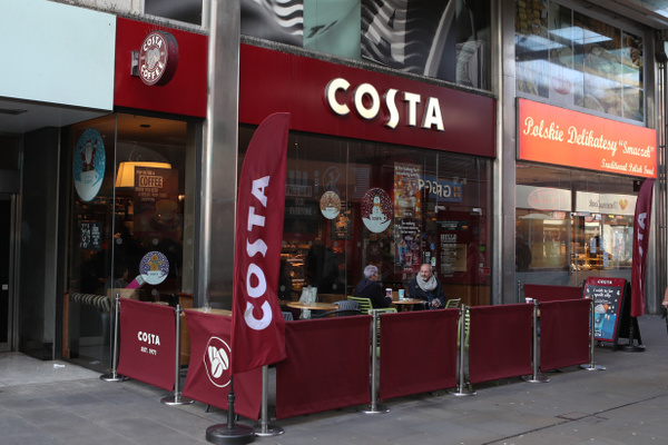Costa Coffee Havelock Street feature image