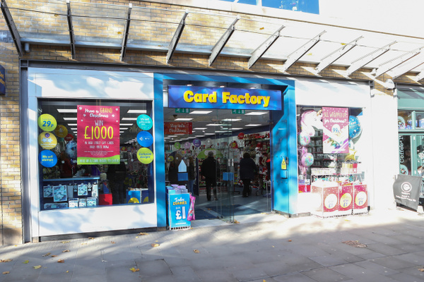 Card Factory Canal Walk feature image