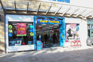 Card Factory Canal Walk