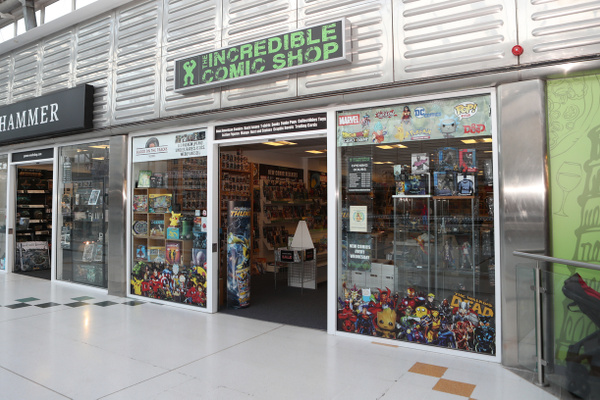 The Incredible Comic Shop feature image