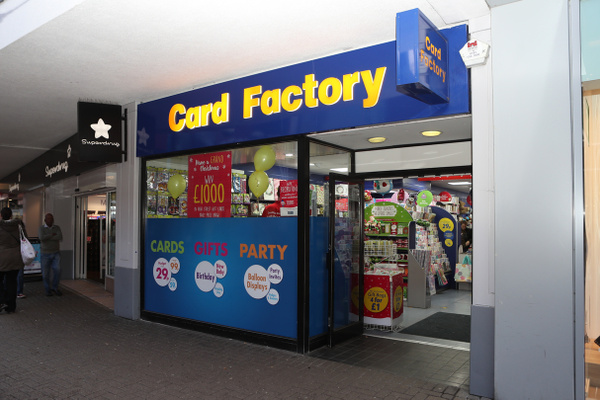 Card Factory The Parade feature image