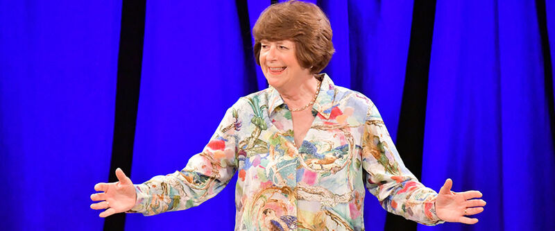 Pam Ayres Up In The Attic