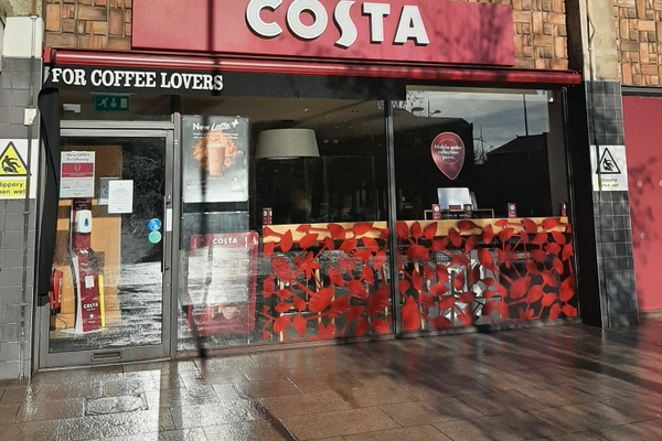Costa Coffee Swindon Station feature image