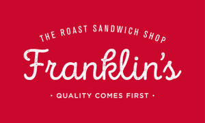 Franklin's The Roast Sandwich Shop logo