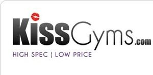 Kiss Gyms logo