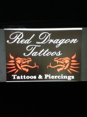 Red Dragon Tattoo Studio logo